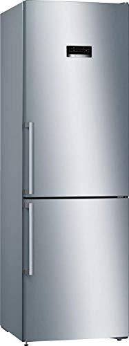 Frigorifero Combinato No Frost, Classe E (Ex A++), 326 Litri, Inox