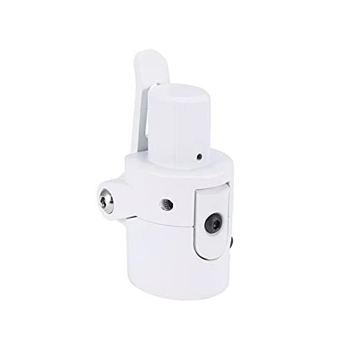 CML Accesorios de Tornillo de Bloqueo de la Barra Plegable de la Scooter Piezas de Repuesto fácil de Transportar Poste Plegable Ajuste para Xiaomi M365 Scooter eléctrico (Color : White)