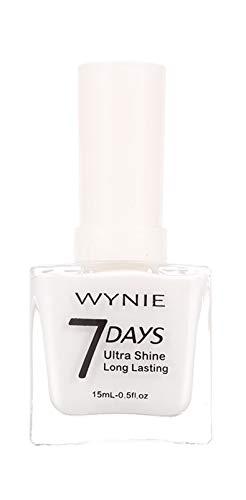 WYNIE JUMBO Nail Polish 426 - Esmalte de Uñas Blanco Manicura Francesa Secado Rápido Larga Duración Acabado Profesional - 15 ml