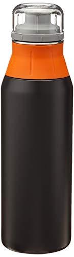 alfi Trinkflasche Edelstahl 900ml - elementBottle Real Pure schwarz - auslaufsicher, spülmaschinenfest, BPA-Free,  5357.141.090