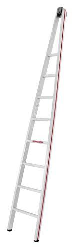 HYMER 501708 Glasreinigerleiter Einzel-Oberteil, 8 Sprossen