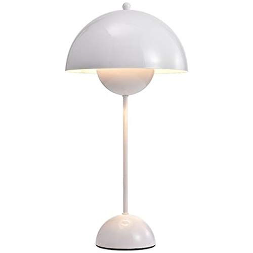 QXinjinxtd Lámparas para habitaciones Lámpara de mesa moderna Lámpara de cabecera dormitorio Maceta luz del escritorio Sala de estar Estudio Tabla de iluminación interior accesorios de decoración de l