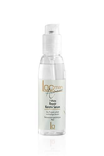 LOCMAN - Keratin Haarserum - 125ml - Anti Frizz - Anti Spliss - Haarpflege für alle Haartypen
