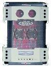 Boss HC1200, 2 canales de alta corriente Amplificador MOSFET, 2x 125 vatios RMS a 4 ohmios, amplificadores estéreo