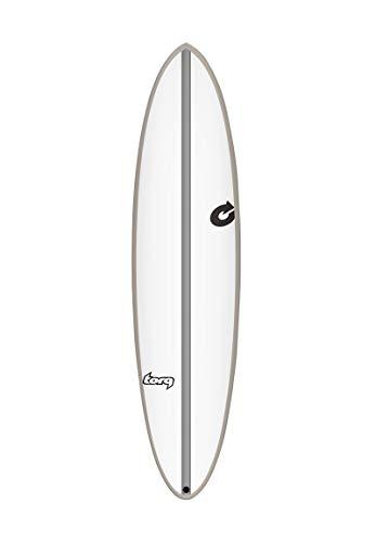 Torq Chopper Rail Epoxy TEC - Tabla de surf, plata, 7.2 FT