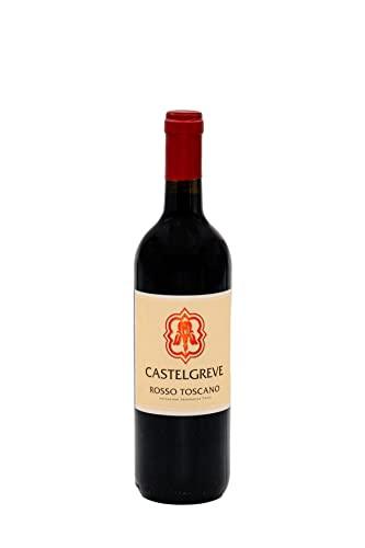Castelgreve, Chianti Classico IGT, Vino Rosso Toscano, 6 Bottiglie da 75 cl, Idea Regalo