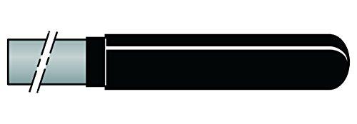 Felco 200C/22 Poignées de rechange en Carbone, Argent, 22 cm, Set de 2 Pièces