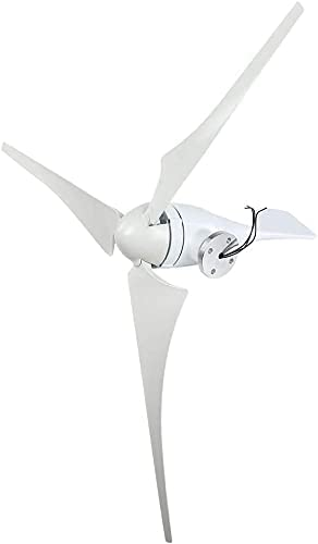 LIBINA NE-300S.Generador de turbina eólica, 300W 630 mm Fibra de Nailon Fibra de Nailon Hoja deViento Potencia 3 Hojas de Molino deViento Kit de máquina de turbina deViento de Potencia para c(24v)