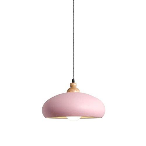 KMMK Candelabros novedosos, luz colgante, cocina, estilo isla, candelabro moderno, mesa de comedor, accesorio de iluminación, diseño nórdico simple, oficina, salas de estar, decoración, sombra rosa,