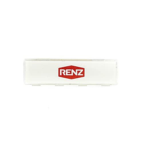 Namenschildabdeckung für Namenschild Renz 97-9-82016
