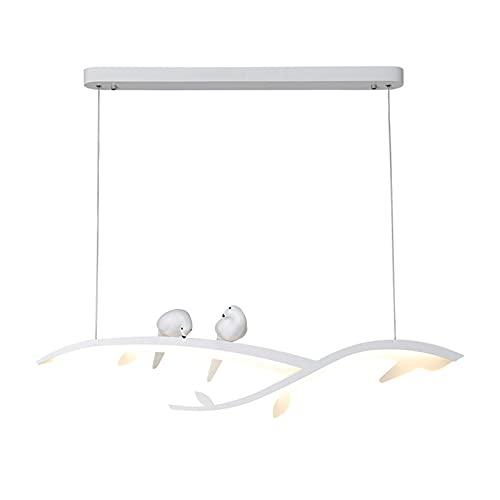 Lámpara Colgante Moderna Led Pantalla de AcríLico LáMpara Colgante Lámpara Regulable con Control Remoto LáMpara de Techo de Aluminio de Altura Ajustable para Comedor LáMpara[Clase EnergéTica A ++]