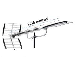 antena exterior de la marca Master