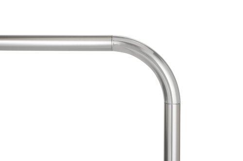 Wenko Barra Angular Universal, Aluminio, Plateado, 3x3x3 cm