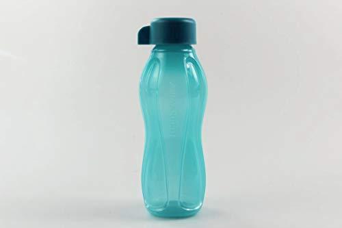 Tupperware to Go Eco 310 ml dunkeltürkis C136 Wasser Saft Trinkflasche Ökoflasche 35136