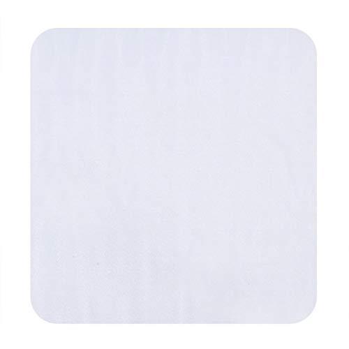 Uxsiya Alfombrilla de protección para Azulejos para el hogar Tamaño Opcional Alfombrilla para Silla Protector de Suelo Alfombra Transparente Antideslizante Oficina en casa(Black, 120 * 120)