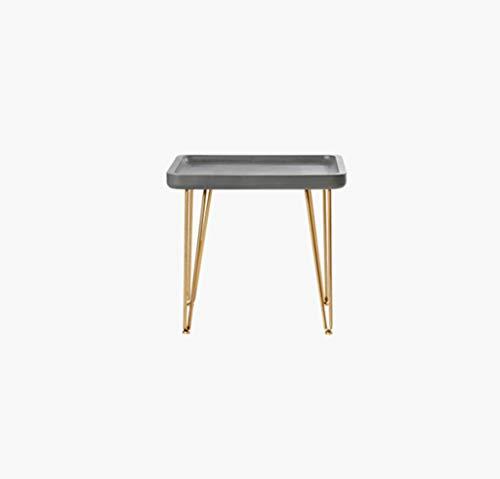 SZQ-Table Basse Mini Table Basse Taille: 50 * 40 * 47CM Carré Non-slip Mobile Petite Table Salon Meubles Décoration Thé Table Multifonction Table de sofa (Size : 50 * 40 * 47CM)