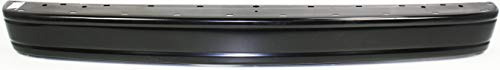 Step Bumper Compatible with CHEVROLET ASTRO/SAFARI 1995-2005 Powdercoated Black Steel with Cover Van