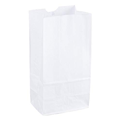 Duro - COMIN18JU053514 Grocery/Lunch Bag, Kraft Paper, 4 lb Capacity, (100 Count) (White)
