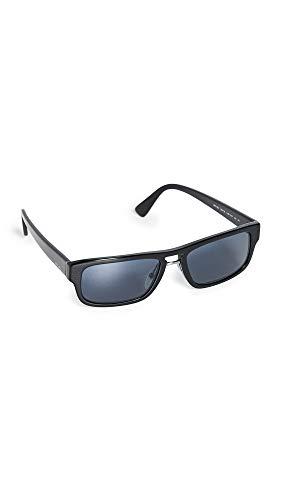 Prada Herren PR05VS Sonnenbrille, Schwarz/Blau, 56