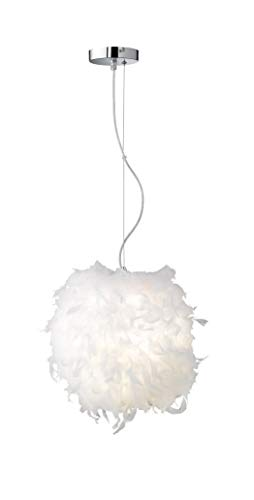 ACTION by WOFI hanglamp, metaal, E27, 42 W, wit, 38 x 38 x 150 cm