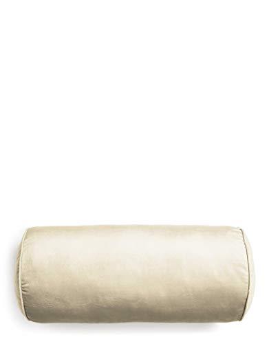 ESSENZA Nackenrolle Dailah Uni Polyester Grau, 22X50