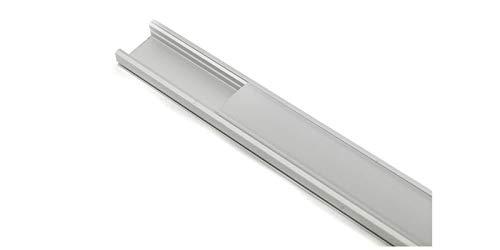 BES 23996 Profil LED-Leiste aus Aluminium, matt, 1 m