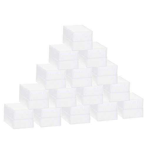 Trendbox 50 Pack Melamine Sponges Magic Cleaning Sponges in Bulk Melamine Foam for Dishes Eraser Sponges for Cleaning