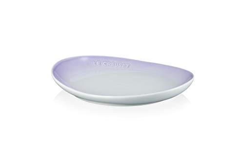 ル・クルーゼ(Le Creuset) 皿 フローラ・プレート L パウダーパープル 耐熱 耐冷 電子レンジ オーブン 対応 【日本正規販売品】