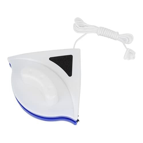 KUIDAMOS Spazzola Magnetica per lavavetri a Doppio Lato, detergente per vetri in plastica a Doppio Lato Detergente per vetri Magnetico a Forte Assorbimento a Prova di gocciolamento per la casa