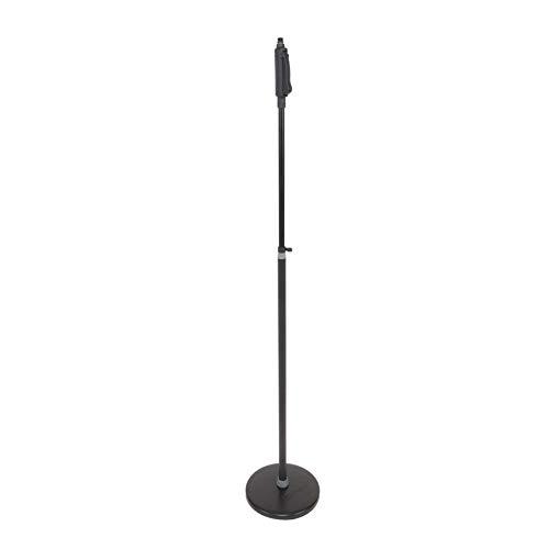 Proel DHPMS10 - Asta microfonica professionale dritta con base in acciaio molto stabile, Nero (DHPMS10)