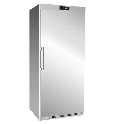 Tiefkühlschrank - 600 Liter - mit 1 Volltür Edelstahl Gastro Lagerkühlschrank Tiefkühltruhe bis -18 °C