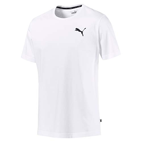 PUMA Herren ESS S Logo Tee T-Shirt, Weiß (Puma White_Cat), XL