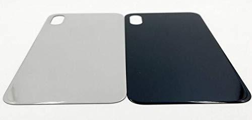 All Gadget - Cover posteriore in vetro per iPhone X, compatibile con iPhone X, colore: Bianco