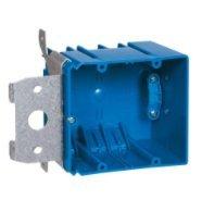 Carlon B234ADJC Range/Dryer Box, 2-Gang, Depth: 3