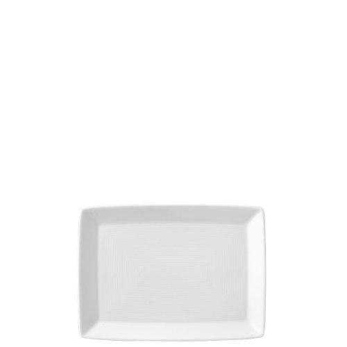 Assiette Thomas Trend Asia, Plat de Service, Carré, Porcelaine, Blanc, Compatible Lave-Vaisselle, 18 cm, 12918