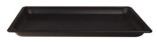 Pentole Agnelli alsa182ss60 Plaque Gastronorm 1/1, Anti-adhésif intérieur/extérieur, Aluminium, 53 x 32,5 x 6 cm