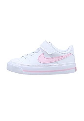 Nike Scarpa 17/27 DA5382 109 Bianco-Rosa