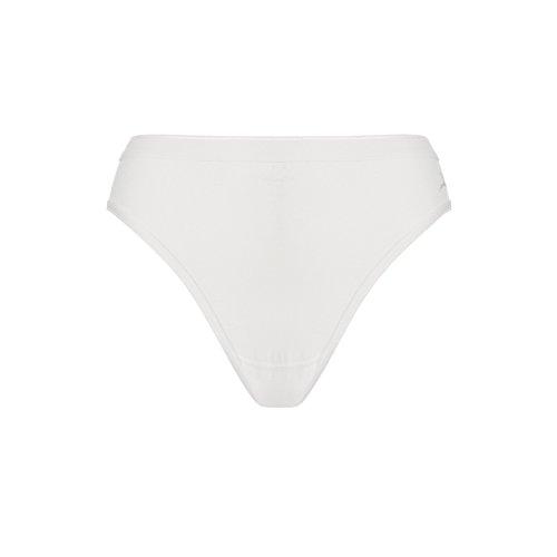 3 Pack Naadloze Katoenen Bikini Briefs - Crème, S | Tien Cate 3 Pack Naadloze Katoenen Bikini Briefs - Crème, S | Tien Cate