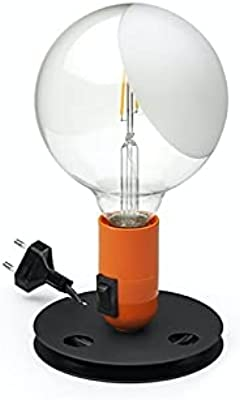 Flos Achille Castiglioni Ampoule LED de table New Color Designed by Achille - Orange