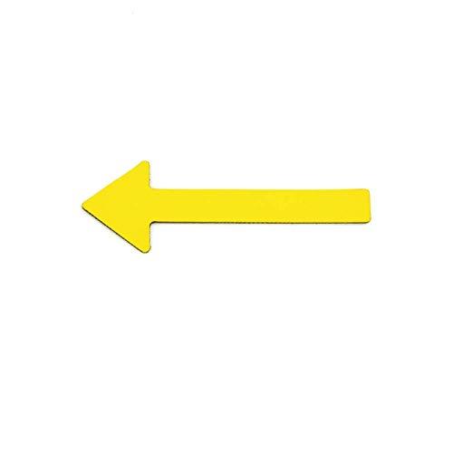 Magnetpfeile für Sachverständig/Einfarbig / 6 cm, KFZ Gutachter, Präsentationen, Projektarbeiten, Gutachten (Gelb, 15 Pfeile)