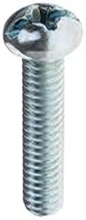 "Selecta RH142J 1/4-20 x 2"" Round Head Combo Machine Screws, Jar of 100"