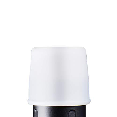 WUBEN Taschenlampendiffusor, langlebig, kompatibel mit Lampenkappen mit einem Durchmesser von 24,5 bis 26 mm, für Taschenlampe L50, C3, L50S, TO40R, TO46R
