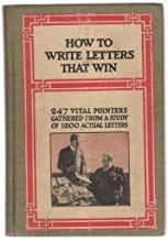 Hardcover How to Write Letters That Win Book