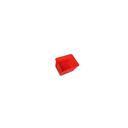 Nespoli 230628.5 - Secchio per vernice rettangolare, 8,5 l, colore: Grigio