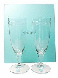 Tiffany&Co./ティファニー アトラス ピルスナー 2客セット ワイングラス/ペアグラス