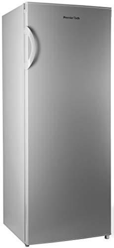 PremierTech PT-FR153S Congelatore Verticale Freezer 153 litri -24°gradi A++ 4**** Stelle 3 Cassetti e 2 Sportelli (Silver)