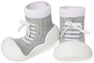 Attipas Sneaker Baby Walker Shoes, Grey, Small