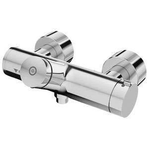 Schell - Volver-grifo de la ducha vitus vd-sc-t/t mezclador termostático, la desinfección de cromo