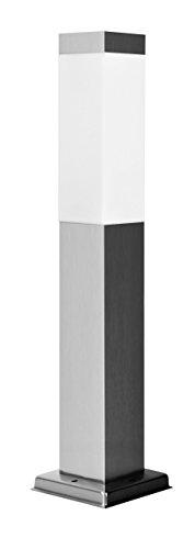 LED Sockelleuchte, 1-Flammig LED Wegelampe, Aluminium Laterne IP44 230V (60cm INOX 290)