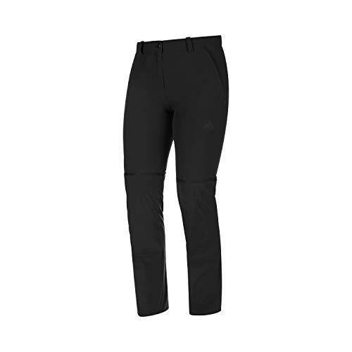 Mammut Damen Wander-Hose mit Reissverschluss Runbold Zip Off, schwarz, EU 40